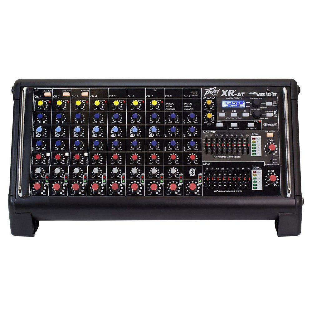 Peavey XRAT Powered Mixer with Autotune in 2020 Audio