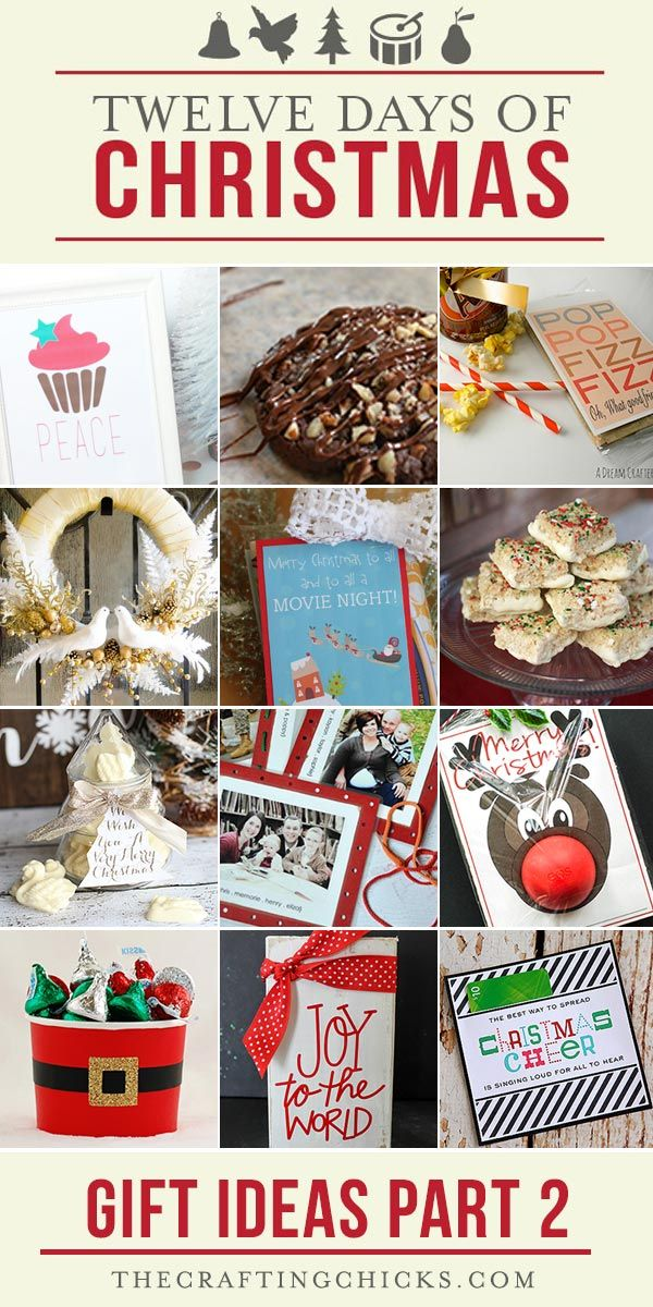 The 12 Days of Christmas Gift Ideas - Neighbor gifts - recipes - Christmas  Decor - printables - 12 Days Of Christmas Gift Ideas Part 2 Gift Ideas Christmas, 12