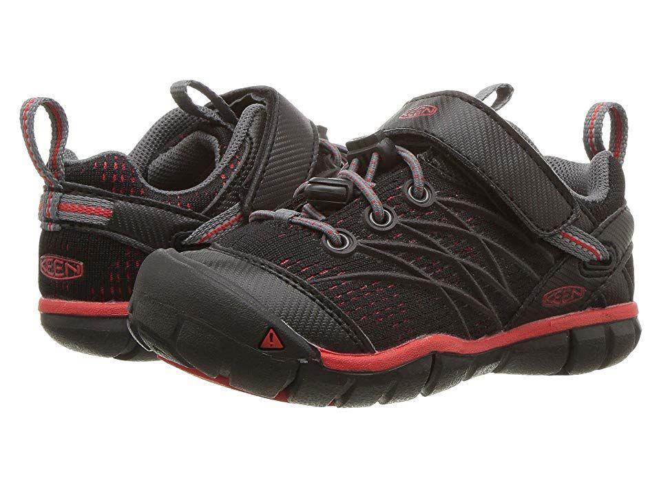 b9ef3713f40 Keen Kids Chandler CNX (Toddler/Little Kid) Boys Shoes Raven/Fiery ...