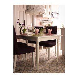 INGATORP Mesa extensible, blanco | Mesas extensibles, La patilla y ...