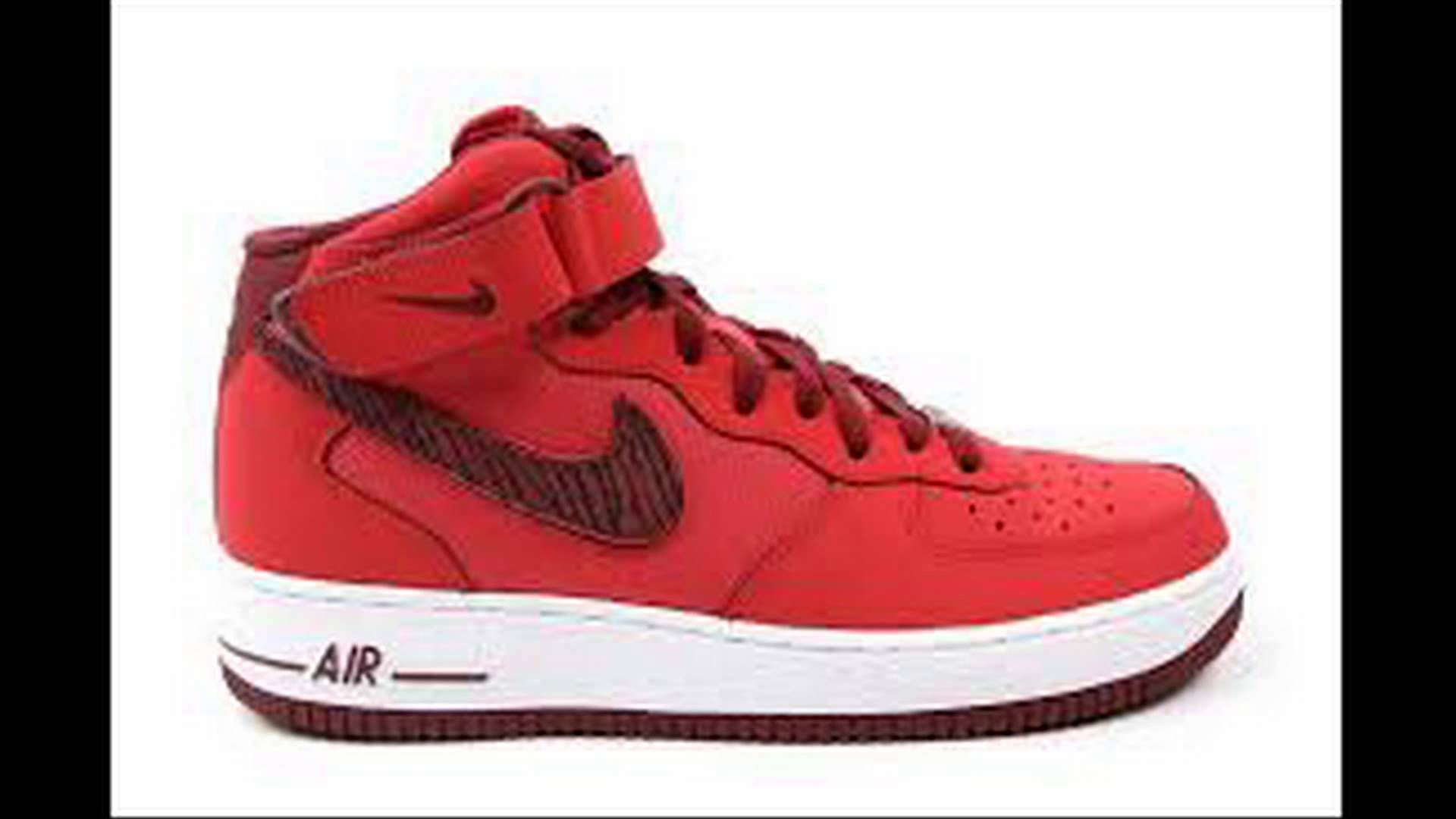 Nike AIR FORCE 1 MID '07 Spor Ayakkabı Modelleri http