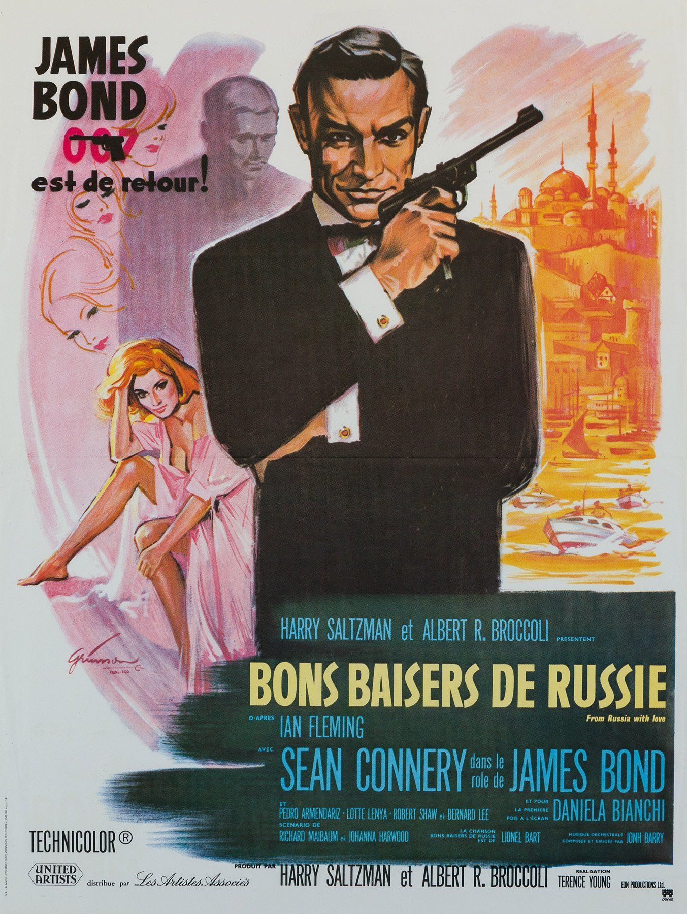 From Russia With Love Film Movie Poster In 2019 Vintage Film