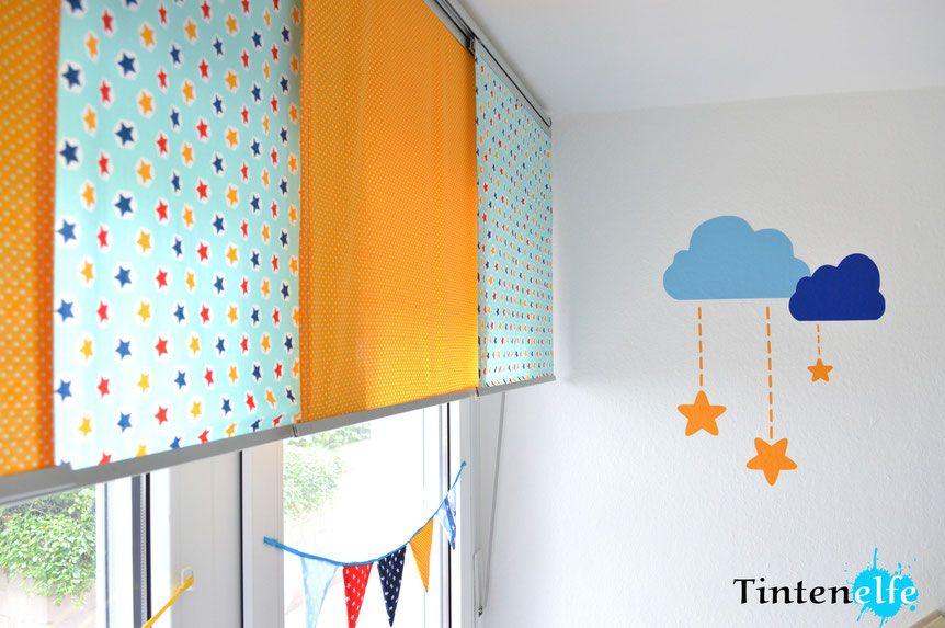 Ikea Hack - Gardinen für System Kvartal selber nähen   Kinderzimmer ...