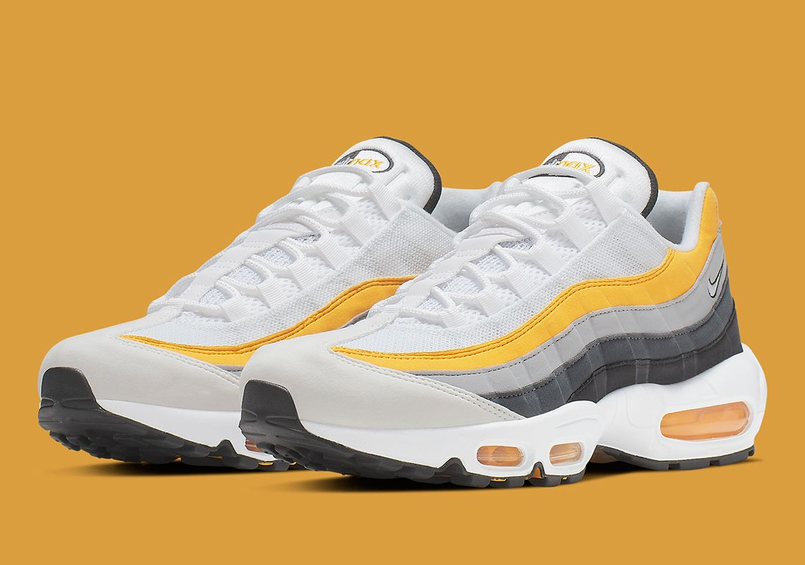 1a5ec1134a The Nike Air Max 95 Arrives In Amarillo And Dark Grey | Footwear in ...