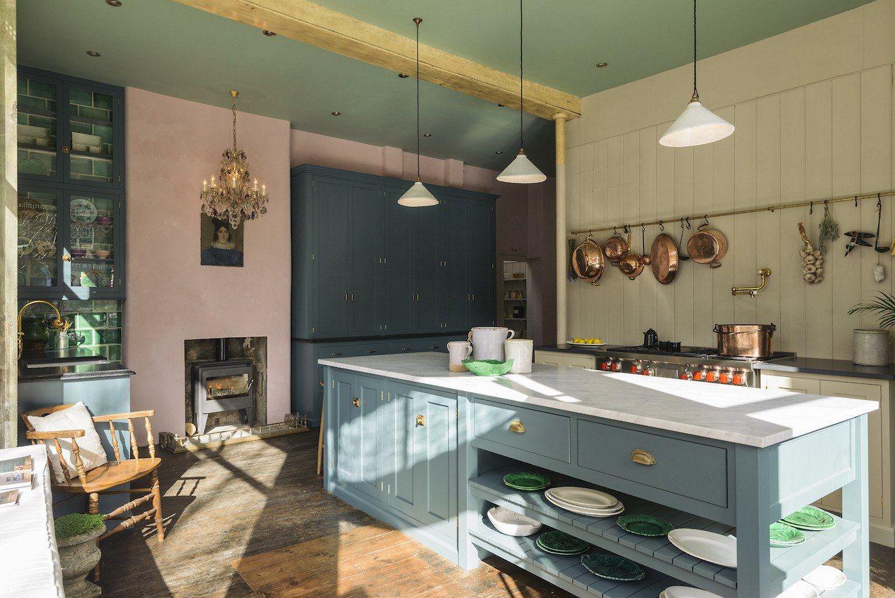 Новини | Зеленая кухня, Дизайн кухонь, Цвета кухонных стен