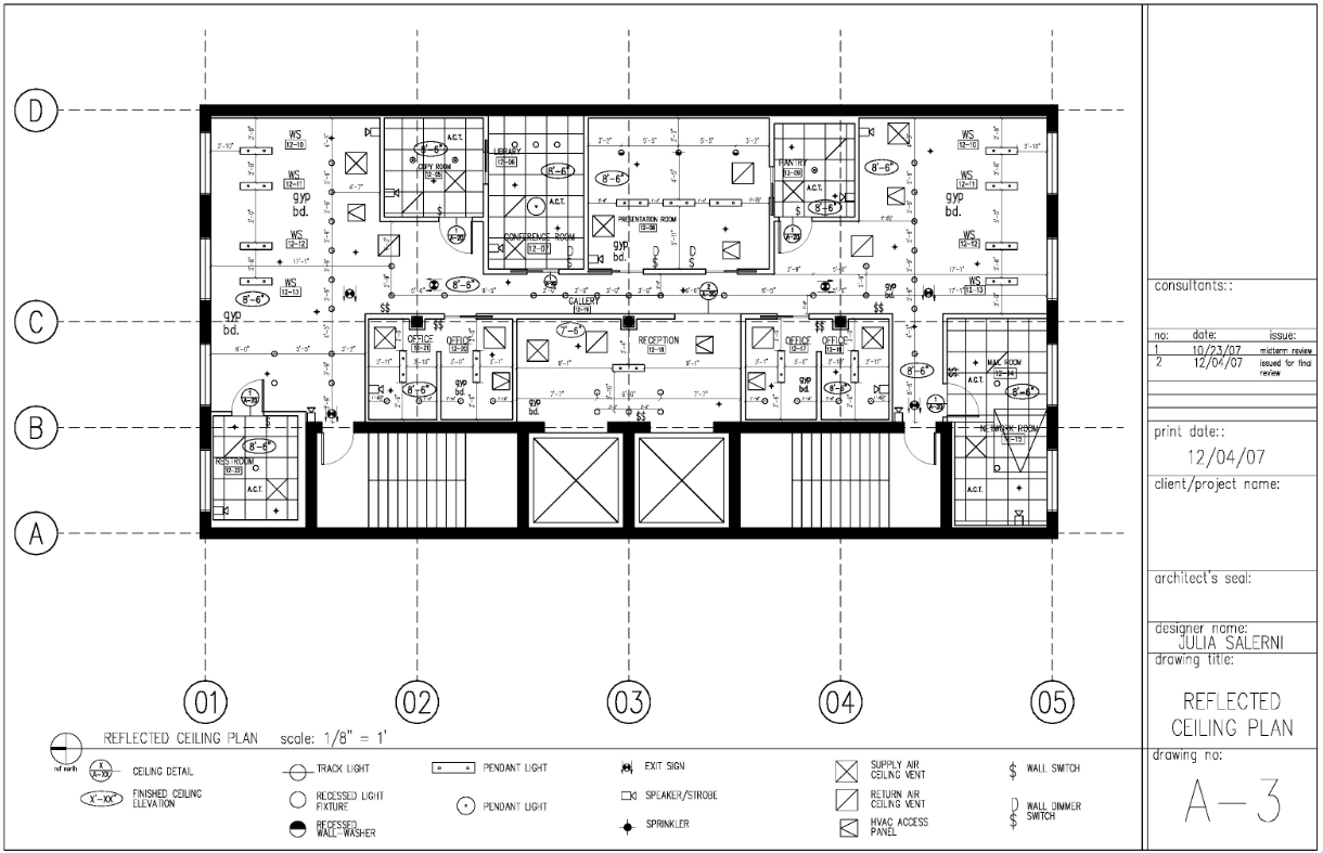 Reflected ceiling plan reflected ceiling ceiling plan construction - View The Construction Documents Reflected Ceiling Plan Job Sample On Elance Browse Millions Of Other Samples Too Getting Great Ideas For Your Next Job