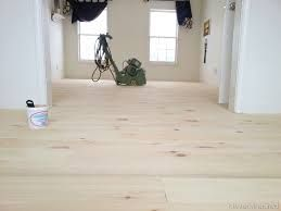 White Washed Pine Wood Flooring