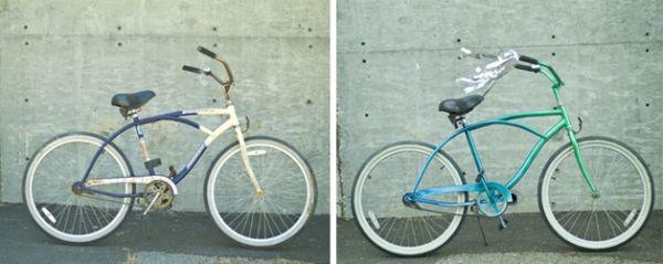 How To Spray Bike Makeover Paint Bike Biking Diy Bicycle