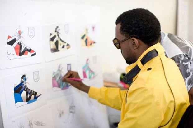 Kanye Designing Sneakers Kanye Kanye West Louis Vuitton Shoes Sneakers