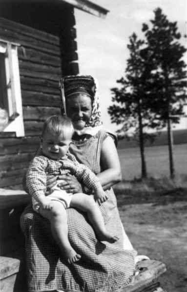 Kolttanainen & lapsi
