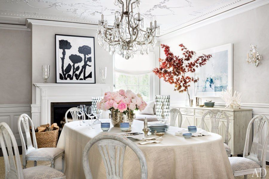 Dining Room : Restoring Louise And Vince Camutou0027s Jazz Age Manor In The  Hamptons : Architectural