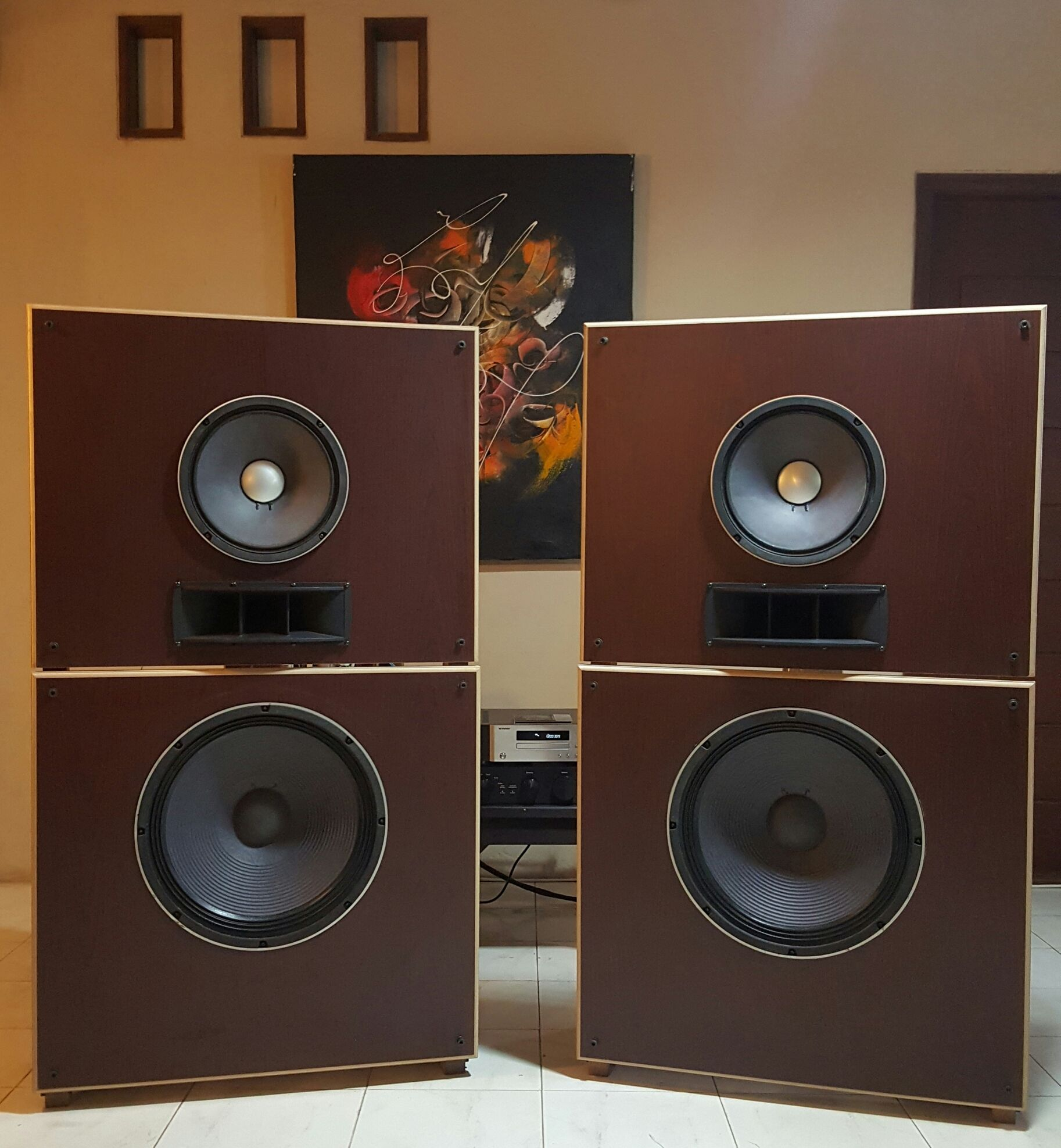 The Fostex 3 ways Open Baffle speaker DIY | OPEN BAFFLE Speakers
