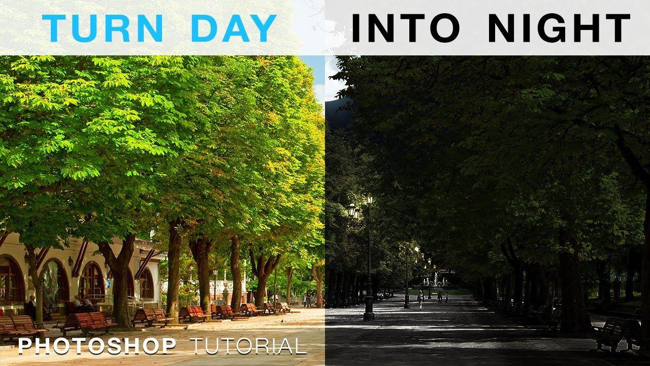 Turn Day To Night Adobe Photoshop Photography Photoshop Photography Retouching Photoshop