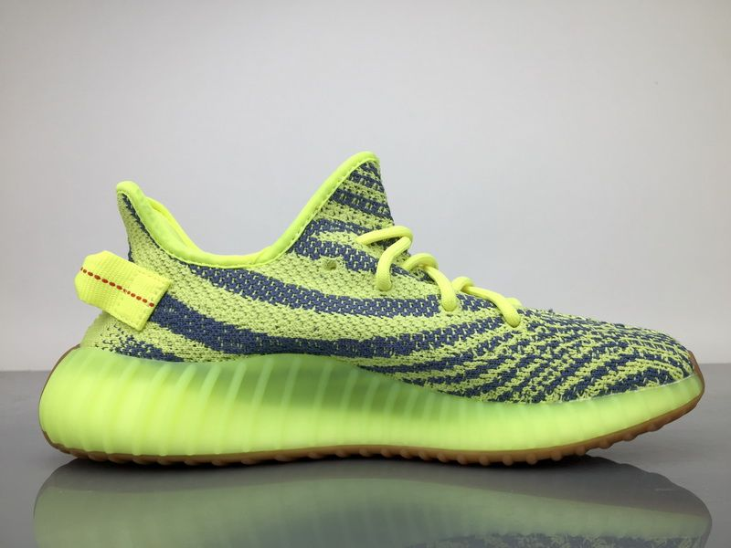 "3b06e10dba8e0 Adidas Yeezy Boost 350 V2 ""Semi Frozen"" Rubber Yellow B37572 Real Boost-04"
