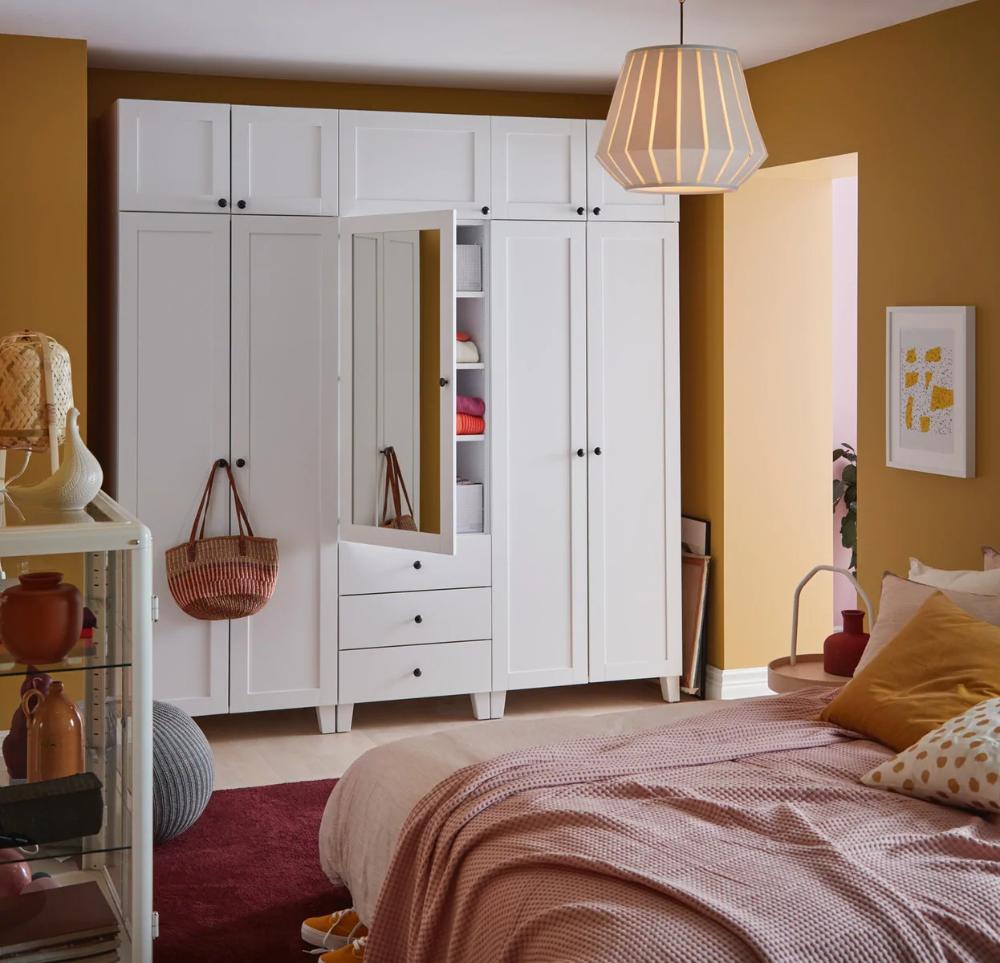 Schlafzimmer Ideen Inspirationen In 2020 Ikea Ideen