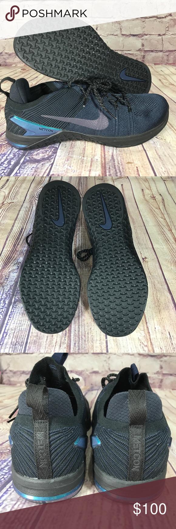 Men/'s Nike Metcon DSX Flyknit 2 AMP Cross Training Shoes AV3839-400 Navy
