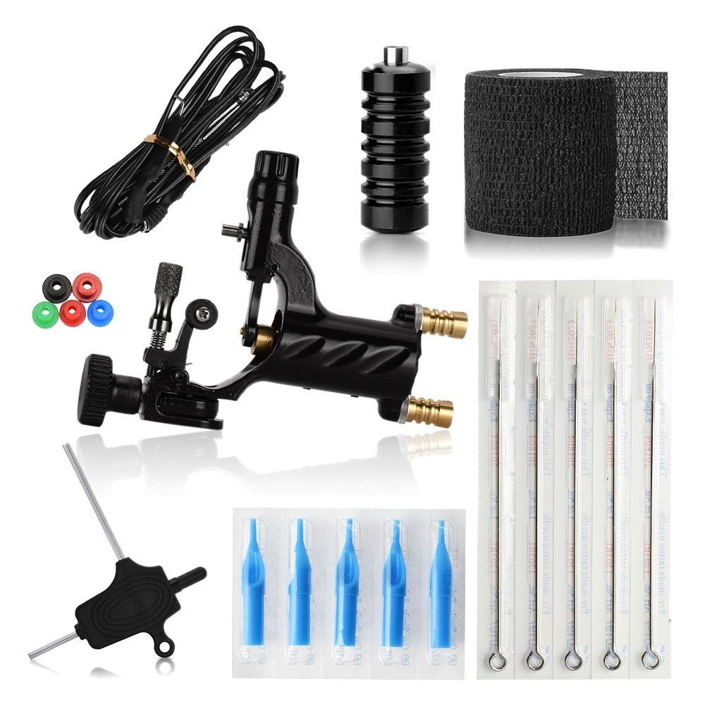 Hot selling 1 set professional body tattoo machine with
