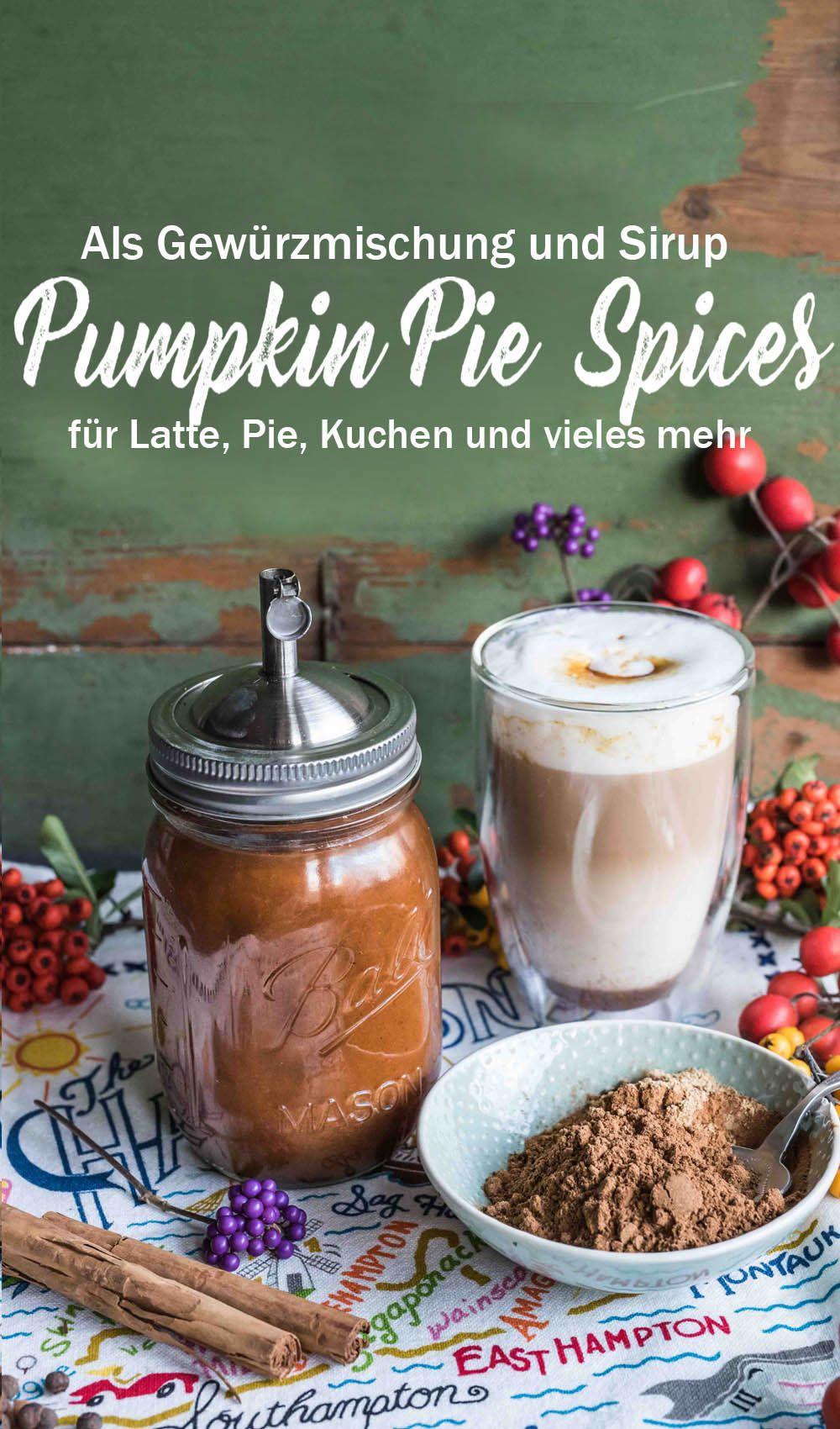 Pumpkin Pie Spices und Pumpkin Sirup für alle Kürbisgerichte