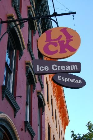 hudson Lick ice cream