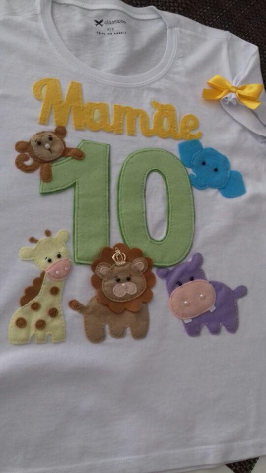 Camisa personalizada camisas personalizadas camisa personalizada em feltro  camisa tema safari safari mensário safari camisa safari a0e9f154106