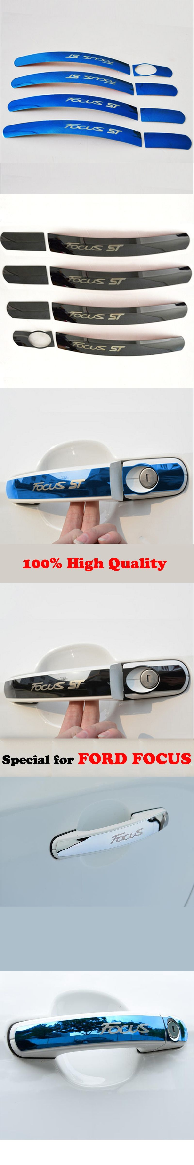 Styling Car Stainless Steel Covers Door Handle Cover Decoration Ford Focus Diagram Stickers For 2