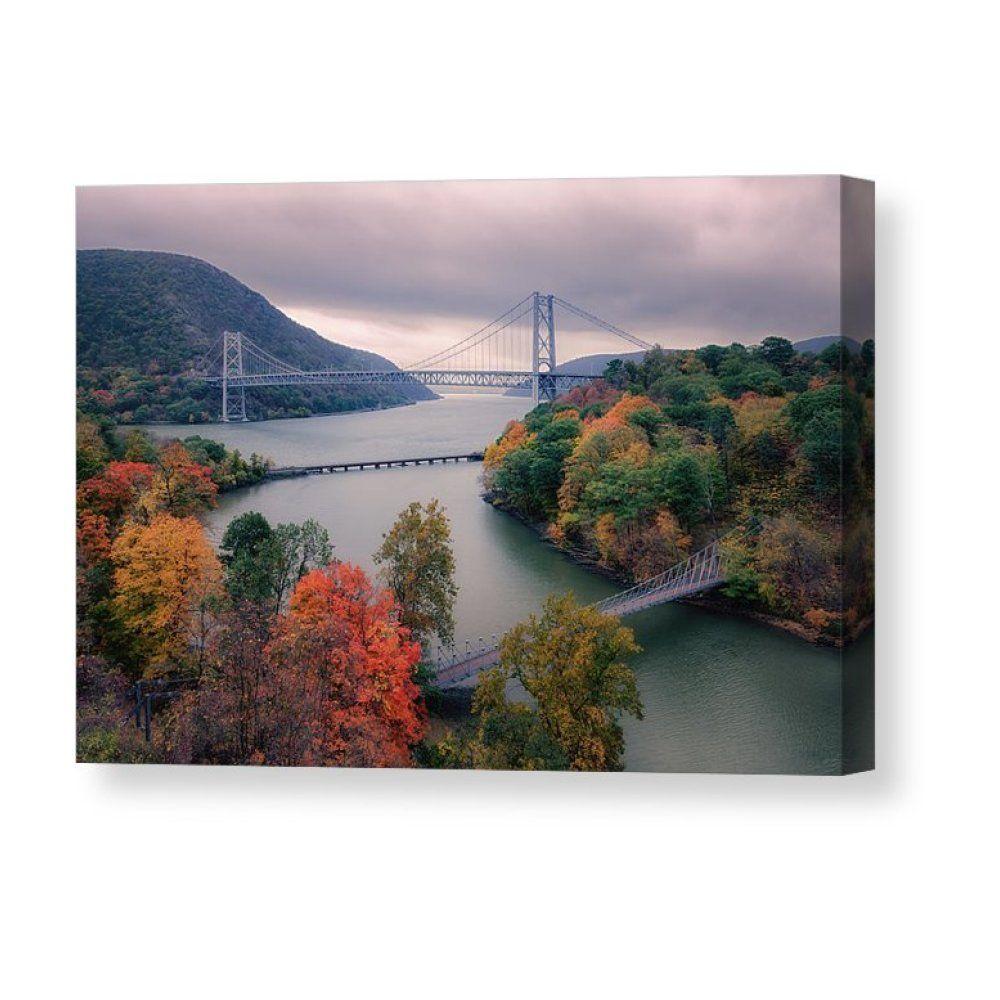 Bear Mountain Bridge Canvas Print Canvas Art By Joan Carroll Bear Mountain Hudson River Valley Hudson Valley