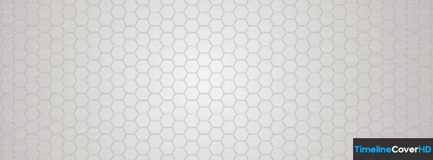 White Hexagon Pattern Facebook Cover Timeline Banner For Fb Facebook Cover