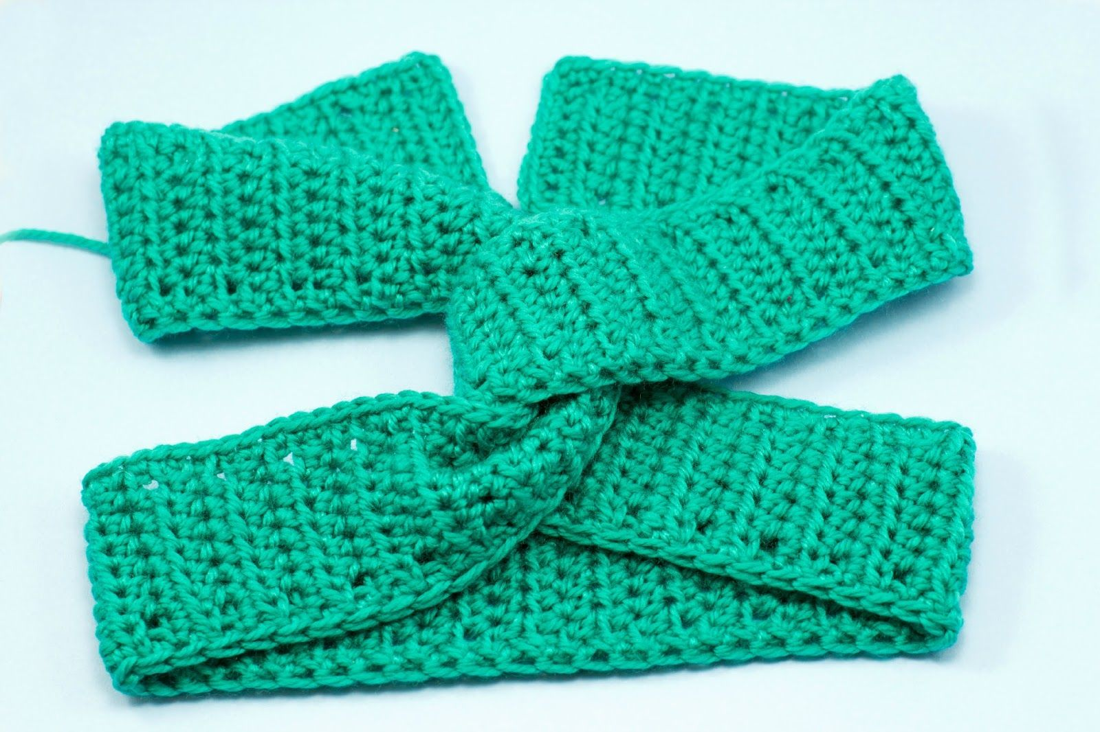 Twisted Turban Headband Crochet Pattern | Garn, Mütze und Schals