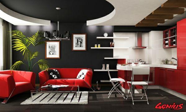29 Kreative Ideen Zur Deckengestaltung In Der Wohnung Haus Pinterest