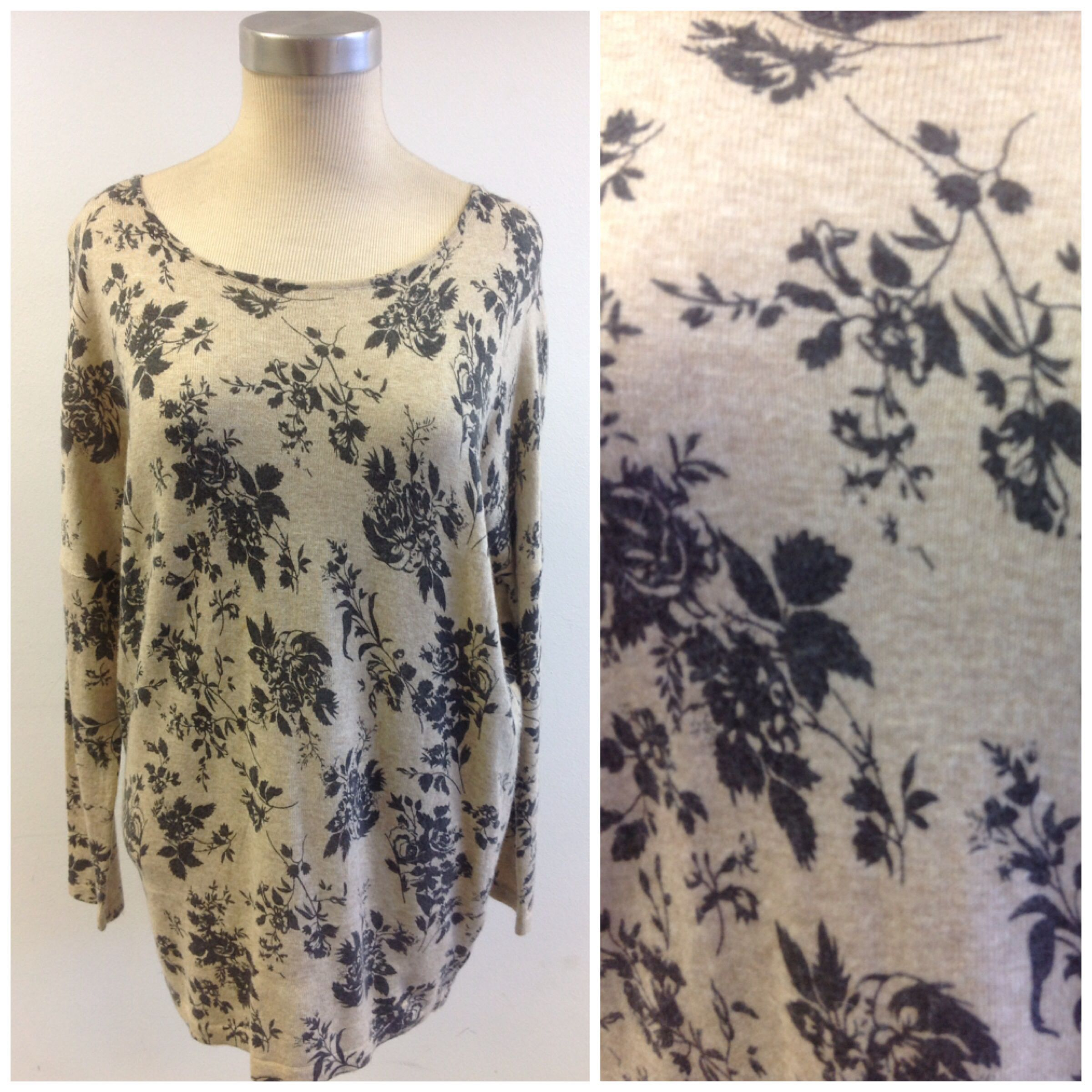 Floral knit at #Nicci
