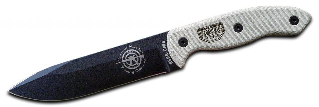 Designed by Terrill Hoffman, the ESEE-CM6 is the joining of ...