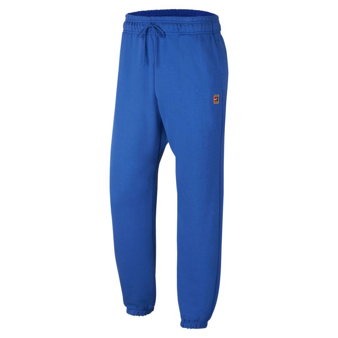 NikeCourt Men's Fleece Tennis Pants (Game Royal) (With