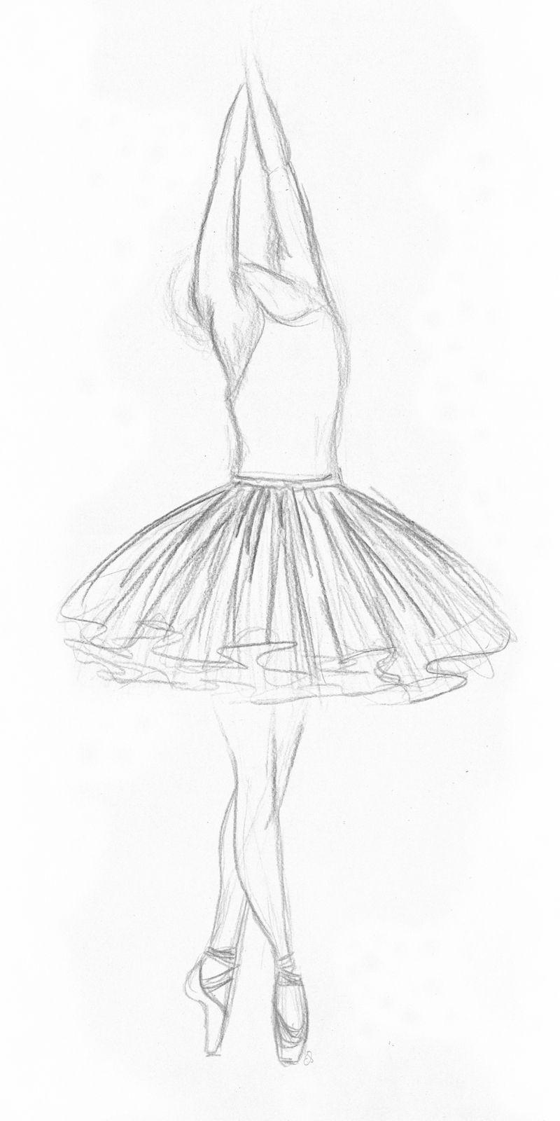Ballerina Art Art Diy Drawings