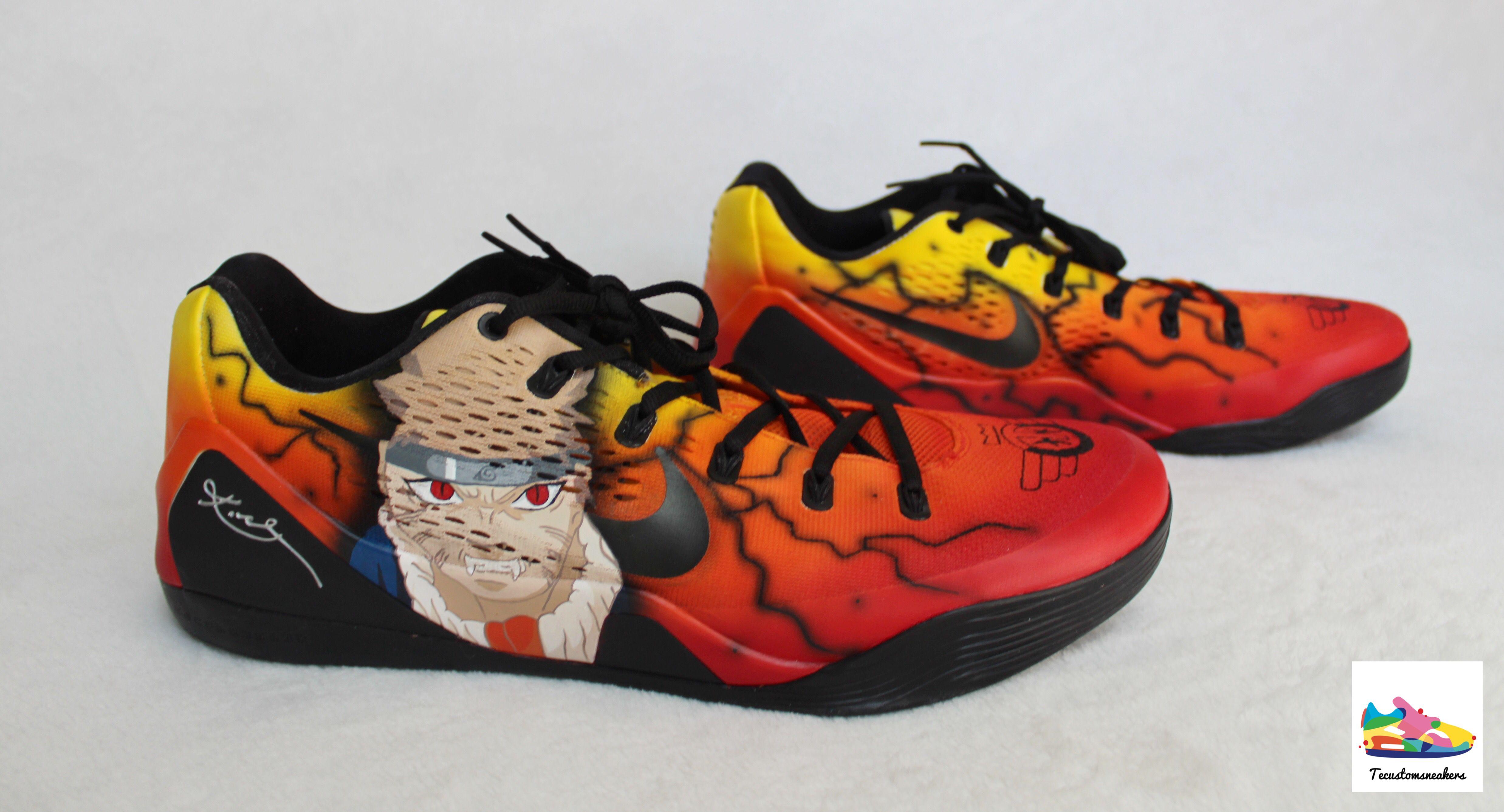 293fb31e773f0 🔥Custom Naruto Kobes 🔥 Was an absolute pleasure making these customs for  my guy Tai Odiase of the Phoenix Suns 2018 NBA Summer League Team