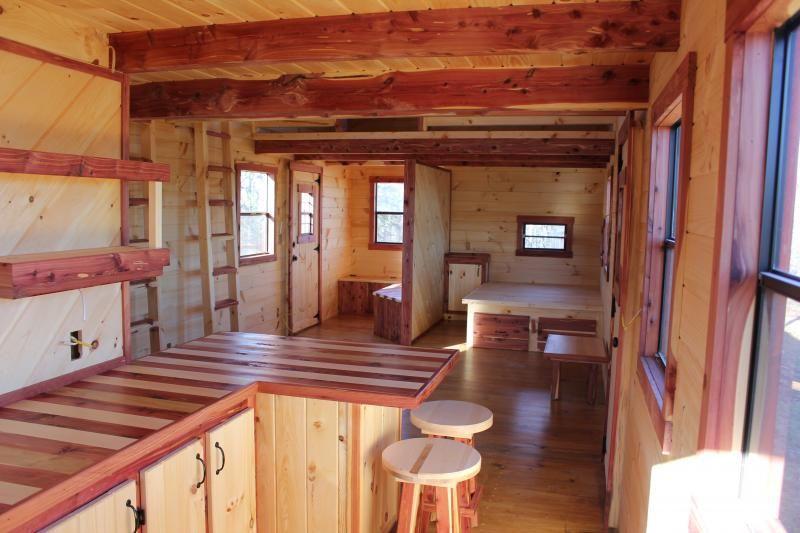 Trophy Amish Cabins Llc 12 39 X 32 39 Xtreme Lodge 648 S F
