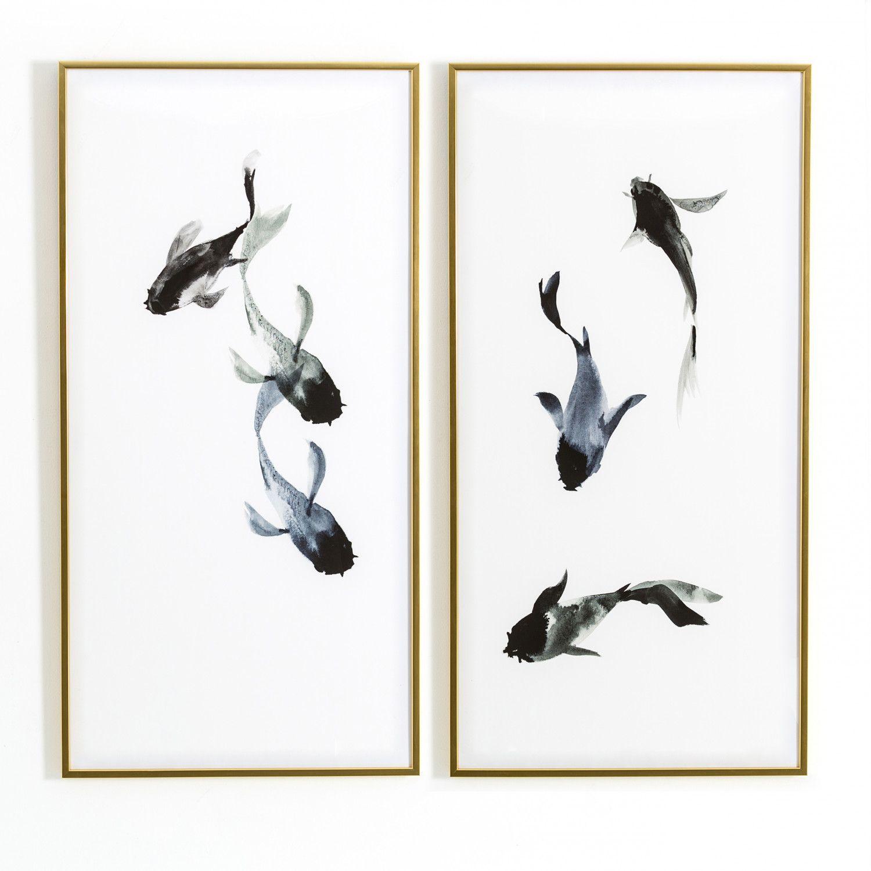 Swim Framed Art Set of 2 ~ Eclectic Goods