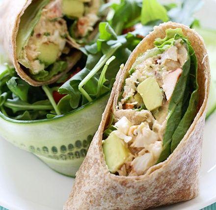 Chipotle Lobster & Avocado Wraps... Happy Hour Appetizers 80 | Hampton Roads Happy Hour