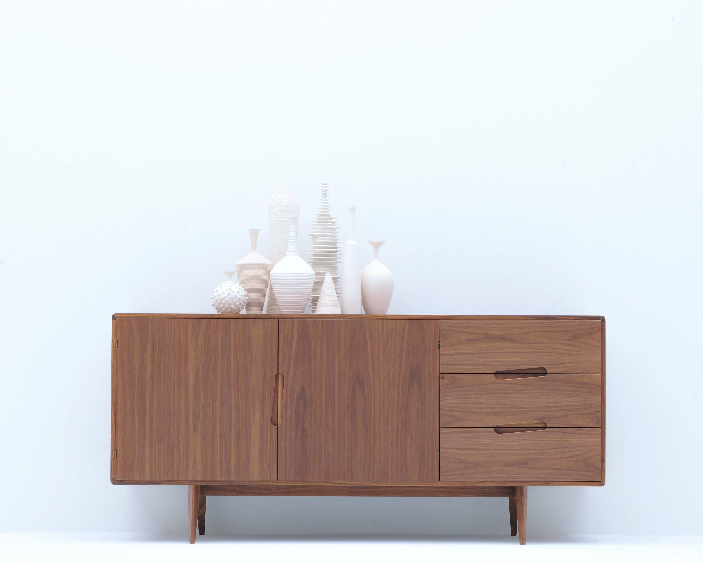 Credenza Con Cajones : Aparador en nogal con cajones home furniture and other pinterest