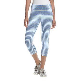 Tommy Hilfiger® Skipper Stripe High Waisted Crop Leggings