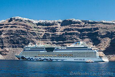 Transatlantic in Santorini, Greece