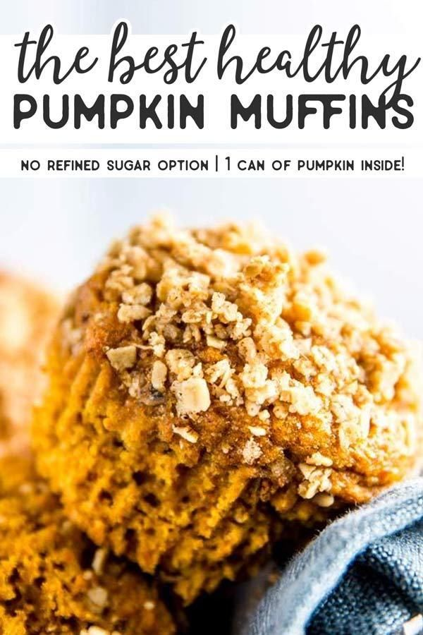 These are the BEST Healthy Pumpkin Muffins on the web! This recipe uses an entire can of pumpkin (no leftovers!) and will make your home smell like autumn. These are incredibly easy to put together and they turn out so moist. The recipe uses all whole wheat flour and using the brown sugar is optional, so you can make them naturally sweetened with only honey. |