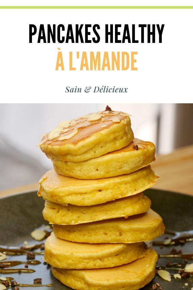 Pancakes à lAmande (Sans Sucres Ajoutés)