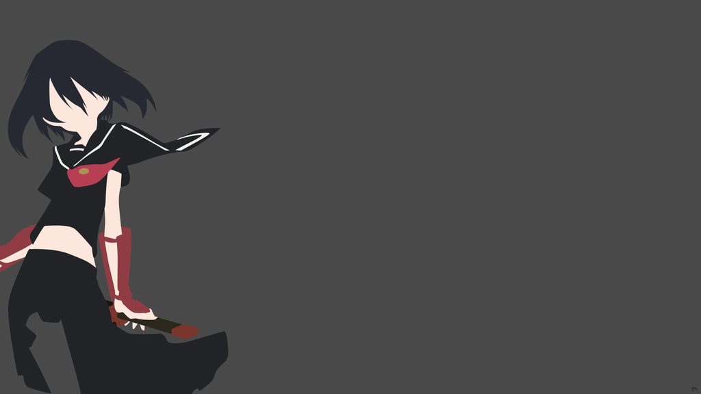 Sasuke Minimalista Fondo: DeviantArt: More Like Kurome (Akame Ga Kill) Minimalist