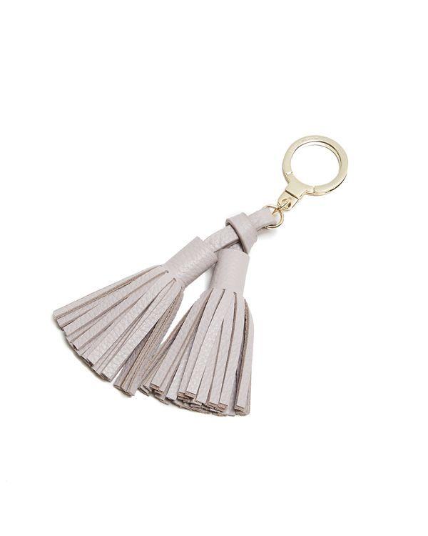 kate spade new york Double Leather Tassel Key Fob