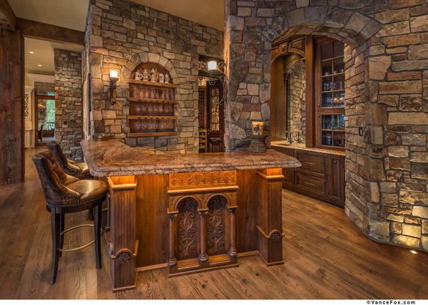 Squaw Mountain Residence Bar Tahoe California By Locati Architects Interior Design By Locati