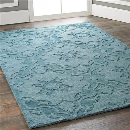 Damask Imprints One Color Rug