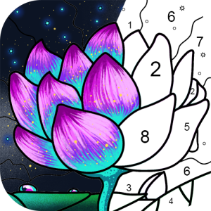 Paint By Number Free Coloring Book Puzzle Game V2 5 4 Mod Apk Coloring Books Paint By Number Free Coloring
