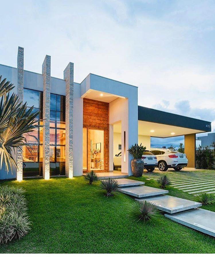 Pin de jose en arquitectura de africa pinterest casas for Fachadas de casas modernas en lima