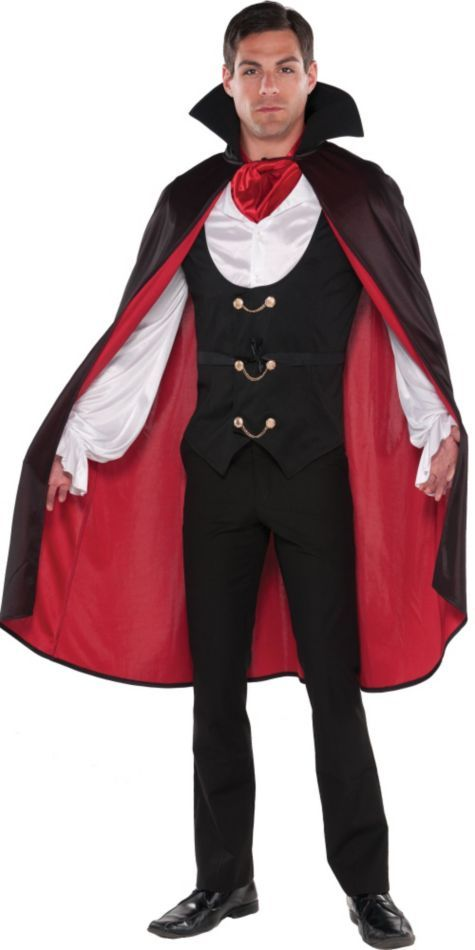 f50e52e5e3b Adult Male True Vampire ($39.99) Costume - Party City | <> Halloween ...