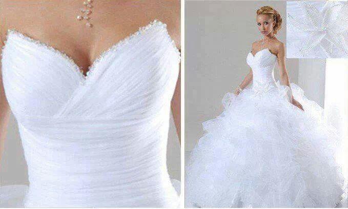 La plus belle robe de mariée du monde | Wedding